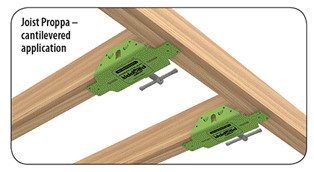 Joist Proppa Cantilevered