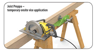 Joist Proppa Vice Application