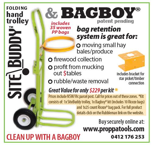 Sitebuddy, Bagboy, Riceze Kit